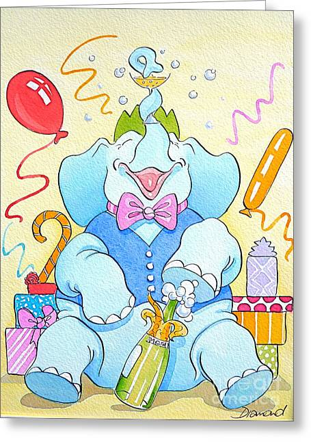Celebrations Greeting Card by Debbie  Diamond