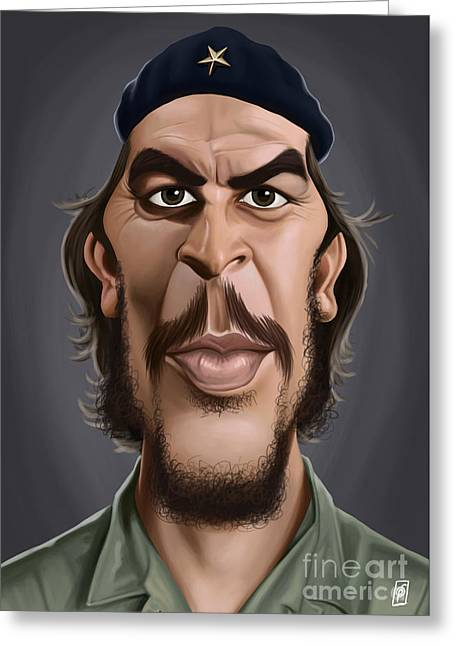 Celebrity Sunday - Che Guevara Greeting Card