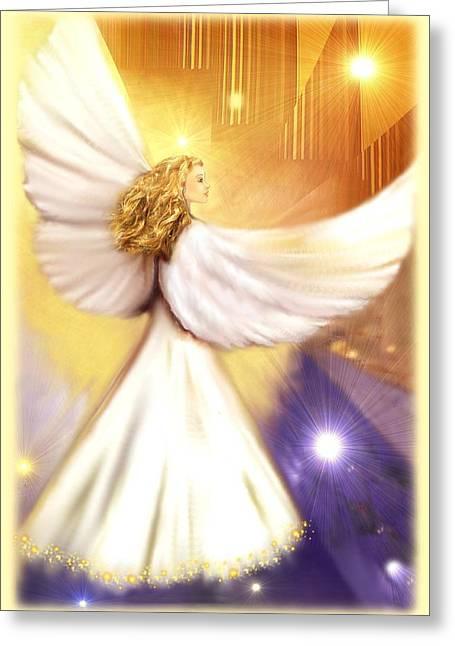 Celestial Angel Greeting Card