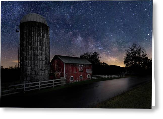 Celestial Farm Greeting Card