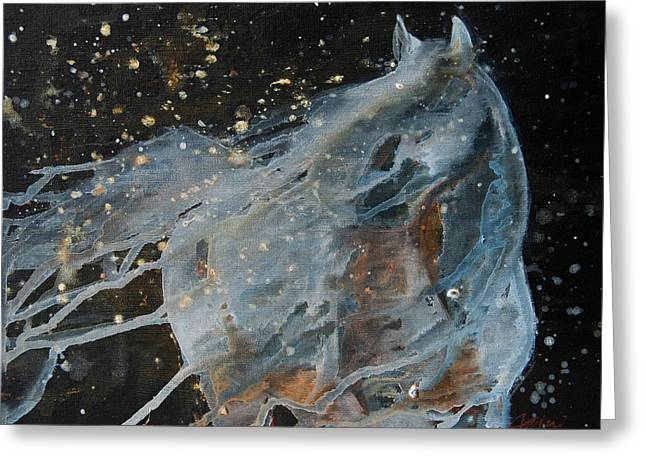 Celestial Stallion  Greeting Card
