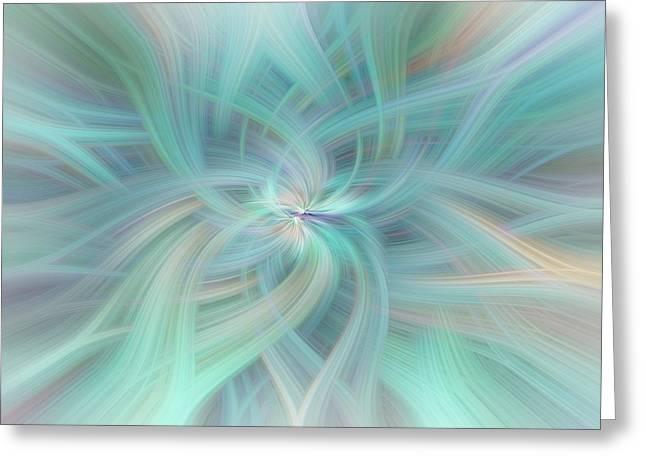 Celestial Vortex Greeting Card