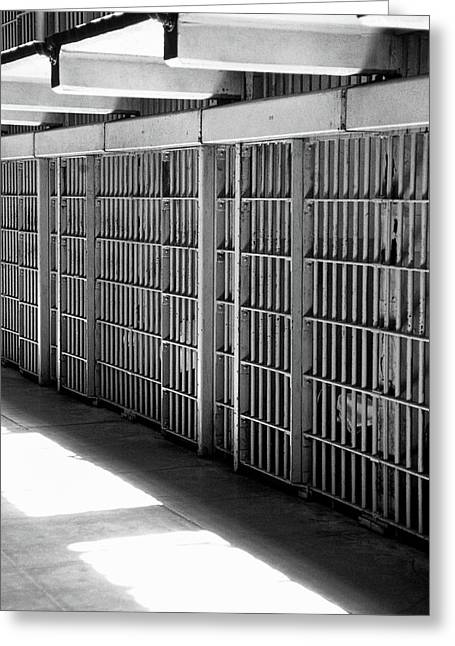 Cellblock A Greeting Card