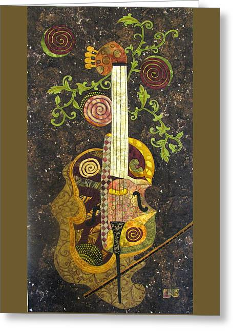 Cello Fantasy Greeting Card