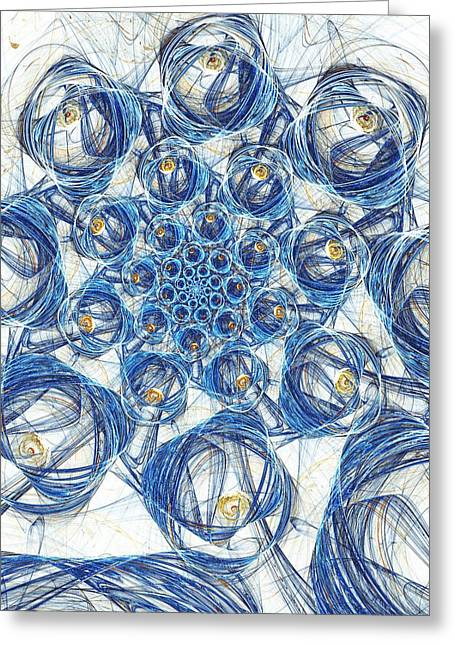 Cells Greeting Card