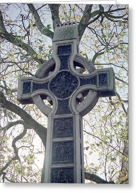 Celtic Cross Greeting Card