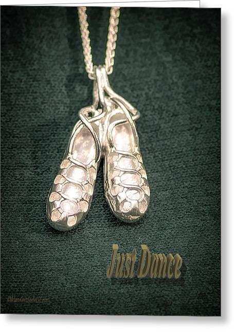 Celtic Dance Shoes Greeting Card by LeeAnn McLaneGoetz McLaneGoetzStudioLLCcom