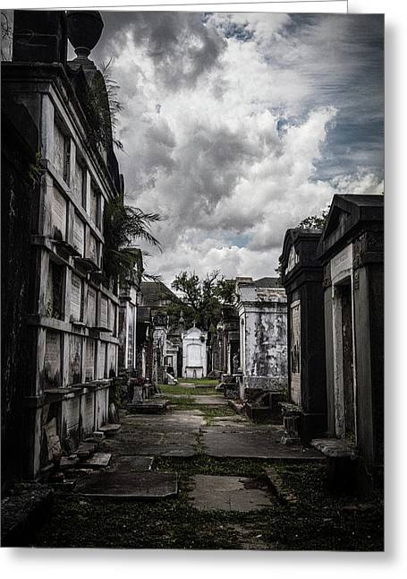 Cemetery Row Greeting Card