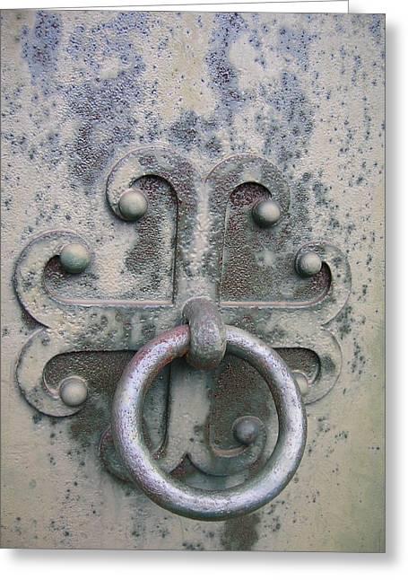 Cemetery Still-life Greeting Card by Jonathan Kotinek