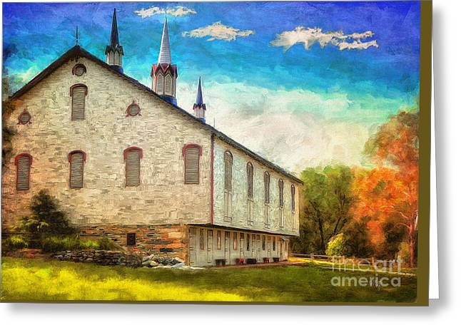 Centennial Barn Greeting Card
