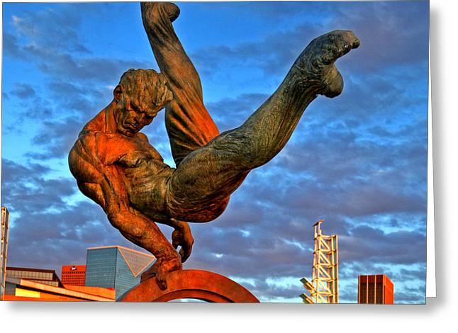 Centennial Park Statue 001 Greeting Card