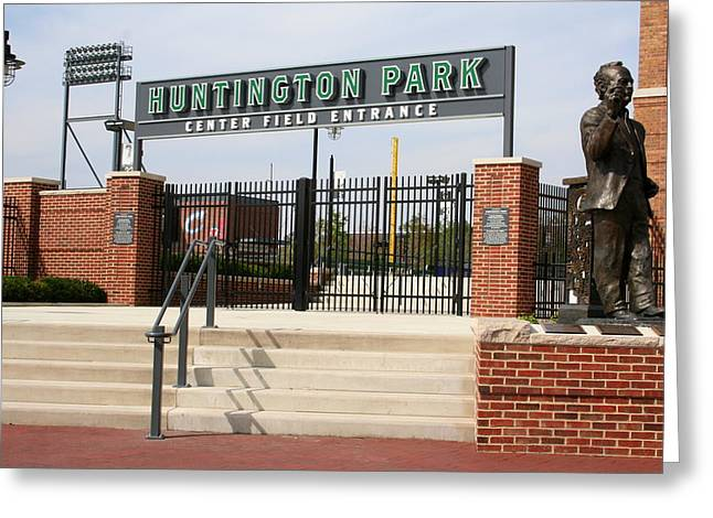 Center Field Entrance At Huntington Park  Greeting Card