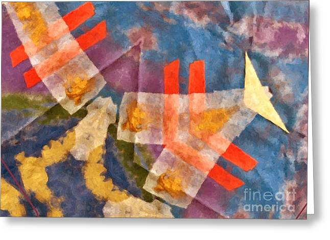 Center Fold Greeting Card by Jeanette Leuers