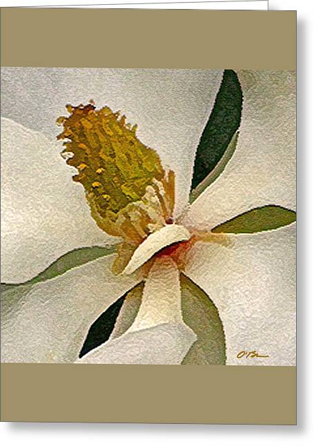 Center Of Being Greeting Card