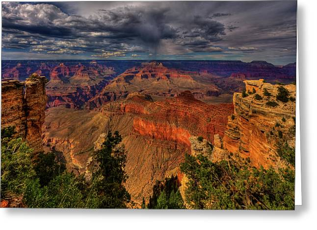 Layered Rock Greeting Cards - Center Stage Greeting Card by Beth Sargent