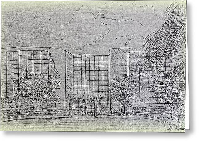 Central Florida Community College - The Ewers Century Center Greeting Card