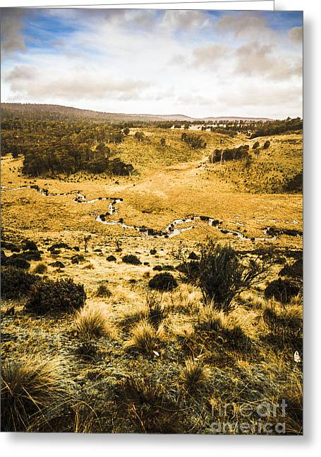 Central Highlands Of Tasmania Greeting Card