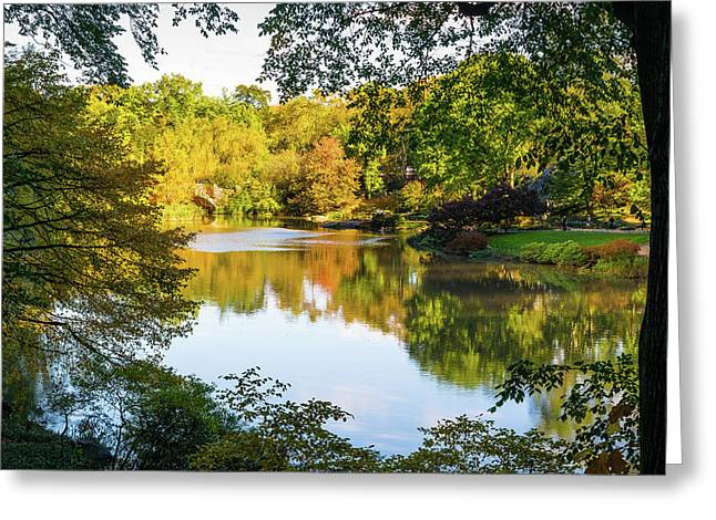 Central Park - City Nature Park Greeting Card