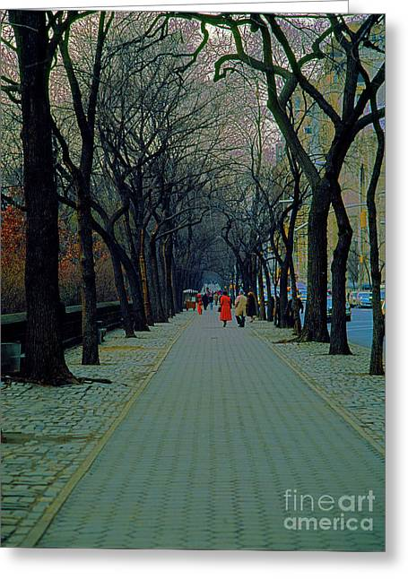 Central Park East Greeting Card