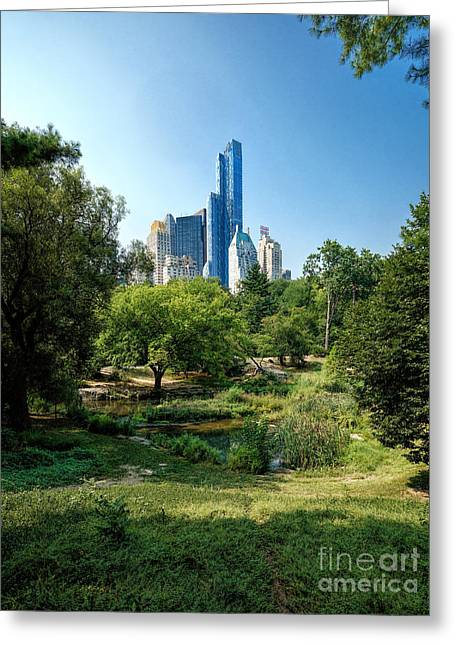 Central Park Ny Greeting Card