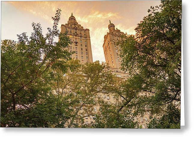 Central Park Skyline Greeting Card