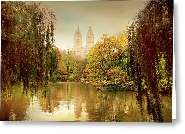 Central Park Splendor Greeting Card