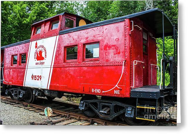 Central Railroad Company Greeting Card