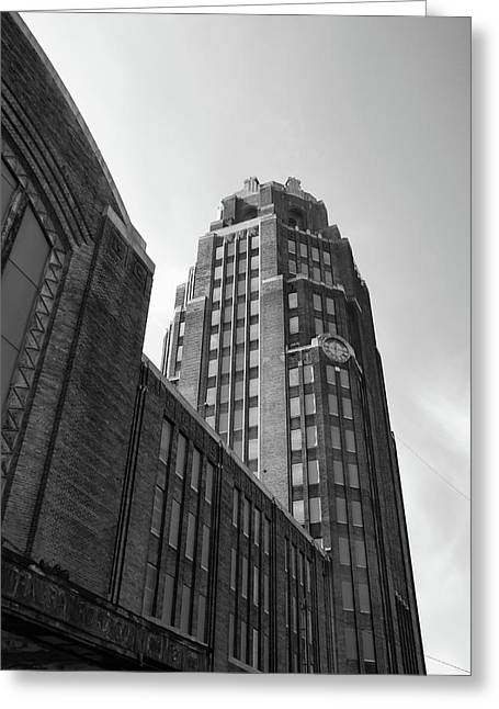 Greeting Card featuring the photograph Central Terminal 15142 by Guy Whiteley