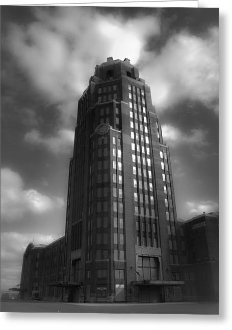 Central Terminal Greeting Card by Chuck Alaimo