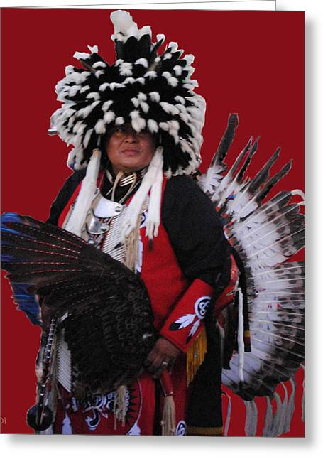 Ceremonial Dress Greeting Card
