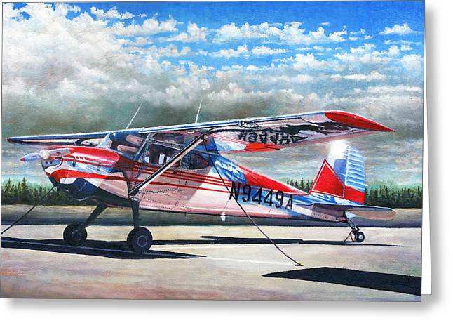 Cessna 140 Greeting Card