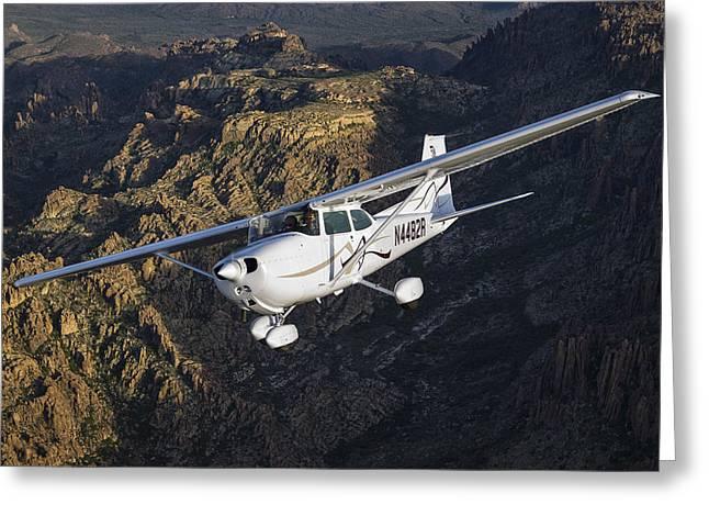 Cessna 172m Greeting Card