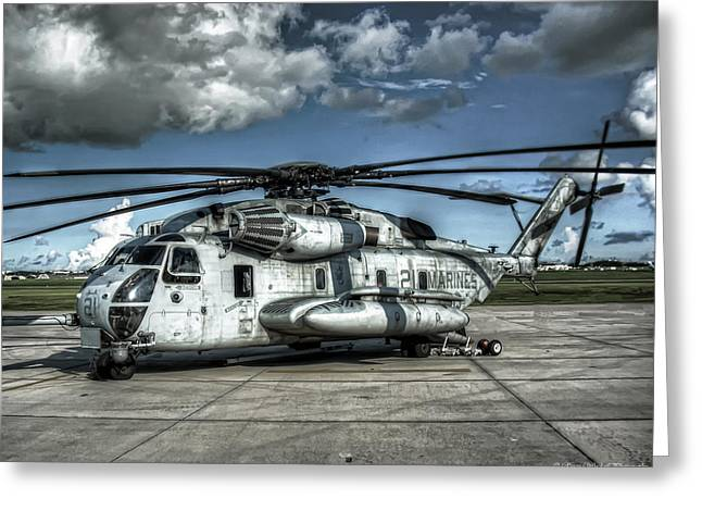 Ch-53 Super Stallion Greeting Card