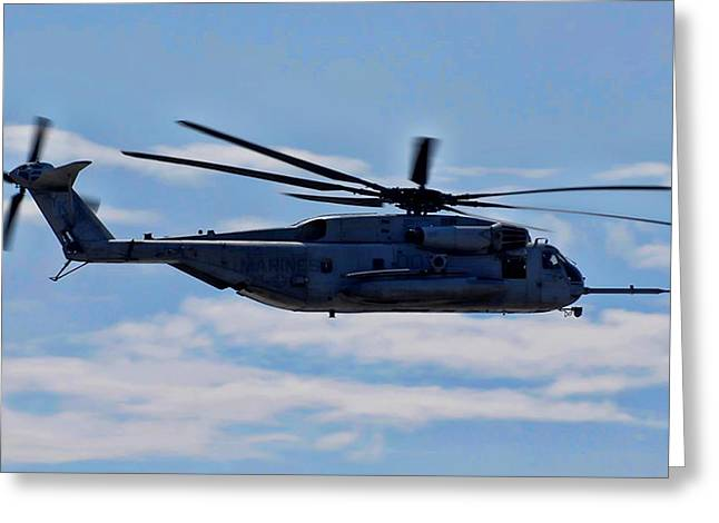 Ch-53d Sea Stallion - 2 Greeting Card by Tommy Anderson