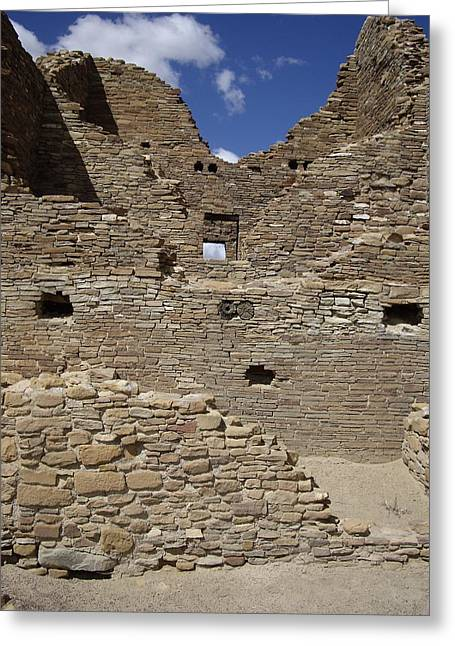 Chaco 3 Story Greeting Card by Carol Komassa