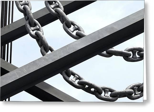 Chain Links Greeting Card