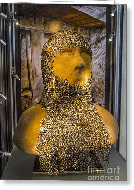 Chain Mail Coif Greeting Card
