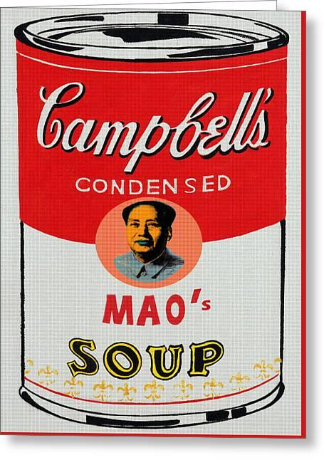 Chairman Mao's Soup Greeting Card