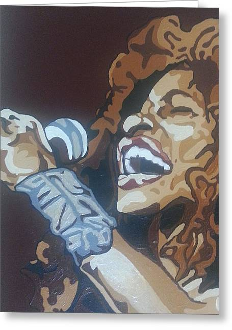 Chaka Khan Greeting Card