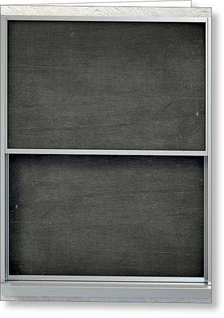 Chalk Board Render Greeting Card
