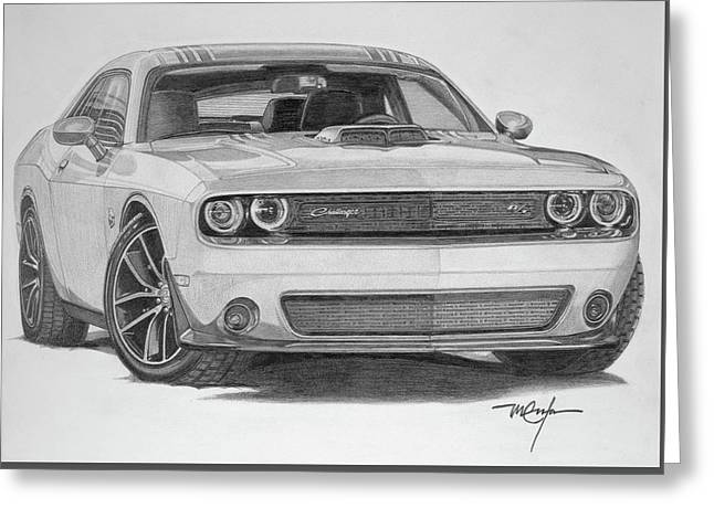 Challenger R/t Greeting Card