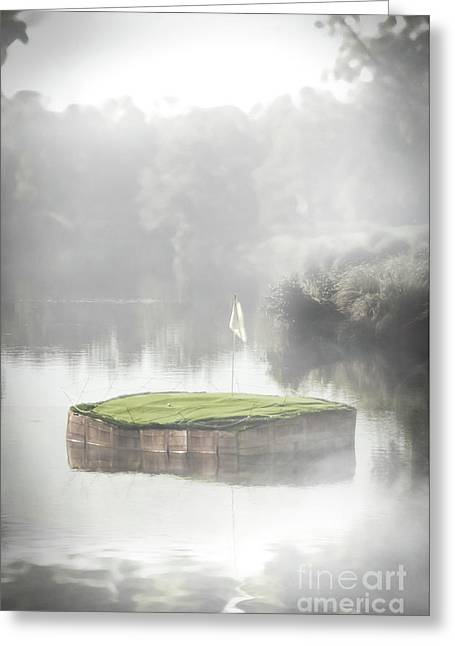 Challenging Hole In One Greeting Card