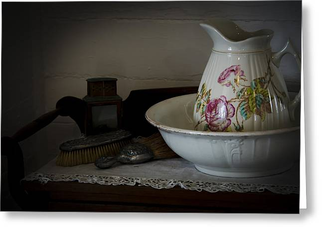 Chamber Pitcher With Basin 2 Greeting Card