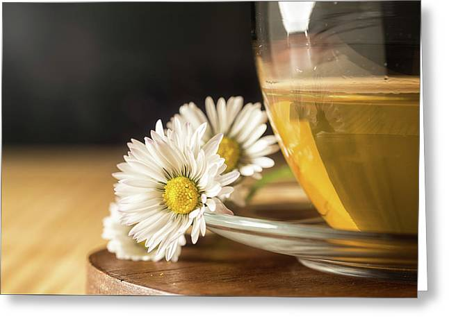 Greeting Card featuring the photograph Chamomile by Traven Milovich