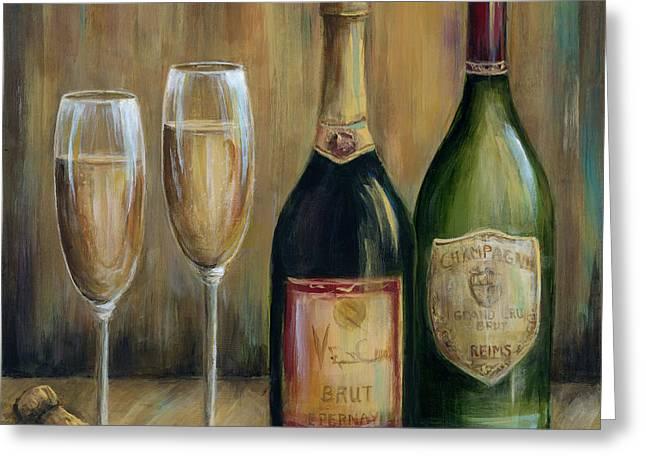 Champagne Celebration Greeting Card