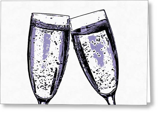 Champagne Wishes And Caviar Dreams Greeting Card