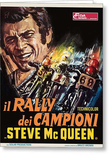 Champions Rally Greeting Card by Gary Grayson