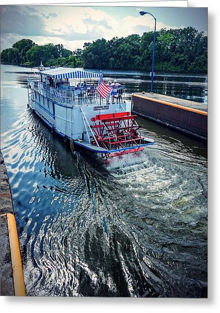 Champlain Canal Patriot Greeting Card