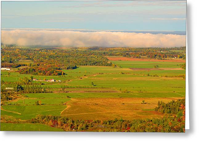 Gatineau Park Greeting Cards - Champlain Lookout Greeting Card by Joshua McCullough