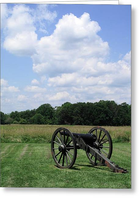Chancellorsville Battlefield 3 Greeting Card by Frank Romeo